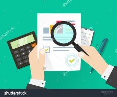 stock-vector-paper-sheet-hands-magnifier-paperwork-consultant-business-adviser-financial-audit-auditing-376770310-1