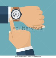 stock-vector-wristwatch-on-the-hand-of-businessman-in-suit-time-on-wrist-watch-man-with-clock-checks-the-time-425988259
